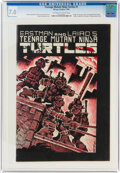 Modern Age (1980-Present):Alternative/Underground, Teenage Mutant Ninja Turtles #1 (Mirage Studios, 1984) CGC FN/VF 7.0 Off-white to white pages....