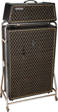 Musical Instruments:Amplifiers, PA, & Effects, Vox Beatle Amplifier Rig, Serial #1209247/908813.. ... (Total: 2 Items)
