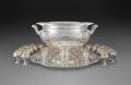 Silver & Vertu, A Thirty-Two-Piece Reed & Barton Partial-Gilt Silver Punch Service, Taunton, Massachusetts, 1933. Marks to punch bowl: REE... (Total: 32 )