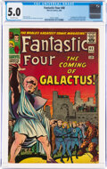 Silver Age (1956-1969):Superhero, Fantastic Four #48 (Marvel, 1966) CGC VG/FN 5.0 Off-white pages....