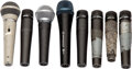 Musical Instruments:Amplifiers, PA, & Effects, Group of Microphones. ... (Total: 8 Items)