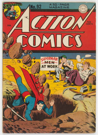 Action Comics #92 (DC, 1946) Condition: VG/FN