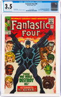 Silver Age (1956-1969):Superhero, Fantastic Four #46 (Marvel, 1966) CGC VG- 3.5 Off-white to white pages....