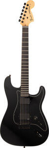 Musical Instruments:Electric Guitars, 2012 Fender Jim Root Signature Stratocaster Black Solid Body Electric Guitar, Serial #US12193732.. ...