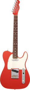 Musical Instruments:Electric Guitars, 2009 Fender Telecaster Fiesta Red Solid Body Electric Guitar, Serial #Z9397198.. ...