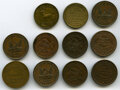 U.S. Merchant Tokens (1845-1860), Balance of the Donald G. Partrick Collection of Connecticut Tokens, XF to Mint State Uncertified. Low-291, HT-102 (2), Fobes... (Total: 11 coins)