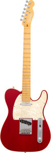 Musical Instruments:Electric Guitars, 2000 Fender Telecaster Trans Red Solid Body Electric Guitar, Serial #DZ0258101.. ...
