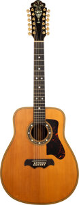 Musical Instruments:Acoustic Guitars, circa 1971 Bozo Natural 12 String Acoustic Guitar, Serial #291-71.. ...
