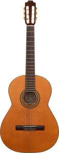 Musical Instruments:Acoustic Guitars, Angel Rosados SP-25 Natural Classical Guitar, Serial #1360.. ...
