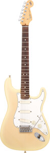 Musical Instruments:Electric Guitars, 1994 Fender Stratocaster Blonde Solid Body Electric Guitar, Serial #N3115299.. ...