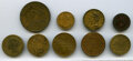 Selection of California Tokens and Counters, AG to XF Uncertified. Miller CA-3, Berenhart, Jacoby & Co.; CA-6 (2), J...