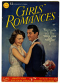 Golden Age (1938-1955):Romance, Girls' Romances #1 (DC, 1950) Condition: VG+....