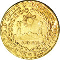 Chile, Chile: Republic gold 8 Escudos 1823-FI,...