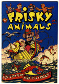 Golden Age (1938-1955):Funny Animal, Frisky Animals #44 (Star Publications, 1951) Condition: VF....