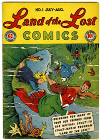 Land of the Lost Comics #1 (EC, 1946) Condition: VG/FN