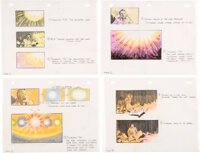 UFOria Storyboard Original Art Sequence of 12 (Universal Pictures, c. 1981)