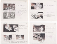 Weird Science Storyboard Original Art Sequence of 49 (Universal Pictures, c. 1981)