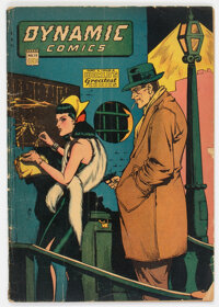 Dynamic Comics #15 (Chesler, 1945) Condition: GD/VG