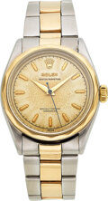 Timepieces:Wristwatch, Rolex, Rare Ref. 6286, Stainless Steel Oyster Perpetual Ch...