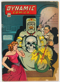 Dynamic Comics #13 (Chesler, 1945) Condition: GD/VG