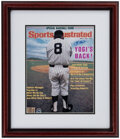 Autographs:Photos, Yogi Berra Signed Sports Illustrated Cover Print. ...