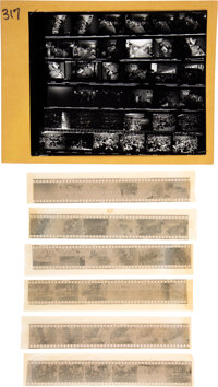 The Beatles Original Photo Negatives From Houston Show (1965)