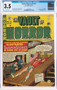 Vault of Horror #12 (#1) (EC, 1950) CGC VG- 3.5 Off-white pages