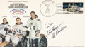 Explorers:Space Exploration, Apollo 15: Crew-Signed Lunar Return Launch/ First Day Cove...