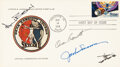 Explorers:Space Exploration, Skylab II (SL-3): Crew-Signed First Day Cover. A p...