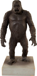 Movie/TV Memorabilia:Props, King Kong Resin Maquette (Paramount, 1976)....