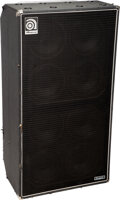Musical Instruments:Amplifiers, PA, & Effects, circa 1990's Ampeg SVT 810E Black Bass Speaker Cabinet, Serial #DWCDT10149.. ...
