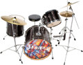 Musical Instruments:Drums & Percussion, Tama Superstar Black Drum Set.. ... (Total: 4 Items)