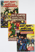 Silver Age (1956-1969):War, Sgt. Fury and His Howling Commandos Group of 38 (Marvel, 1966-70) Condition: Average VF+.... (Total: 38 Comic Books)