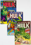 Silver Age (1956-1969):Superhero, The Incredible Hulk Group of 28 (Marvel, 1968-70) Condition: Average VG/FN.... (Total: 28 Comic Books)