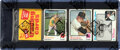 Baseball Cards:Unopened Packs/Display Boxes, 1973 Topps Baseball Rack Pack (2nd/3rd Series) With Catfish Hunter on Top! ...