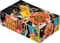 1970 Topps Basketball (2nd Series) Wax Box with 24 Unopened Wax Packs!