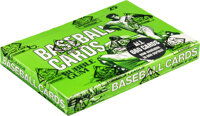 1975 Topps Baseball Cello Box with 24 Unopened Packs - Brett & Yount Rookie Year - Aaron Top Card!