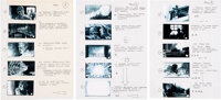 Taps Storyboard Group of 39 (20th Century Fox, c. 1981)