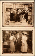 """Movie Posters:Comedy, A Reckless Romeo (Paramount, R-1919). Fine/Very Fine. Lobby Cards (2) (11"""" X 14"""").. ... (Total: 2 Items)"""