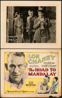 """The Road To Mandalay & Other Lot (MGM, 1926). Very Fine-. Title Lobby Card & Lobby Card (11"""" X 14"""")..."""
