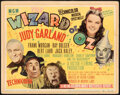 """Movie Posters:Fantasy, The Wizard of Oz (MGM, R-1949). Fine/Very Fine. Title Lobby Card (11"""" X 14"""").. ..."""