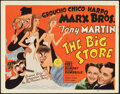 "Movie Posters:Comedy, The Big Store (MGM, 1941). Very Fine. Title Lobby Card (11"" X 14"") Al Hirschfeld Artwork.. ..."