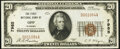 Opp, AL - $20 1929 Ty. 1 The First National Bank Ch. # 7985 About Uncirculated