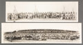 American Indian Art:Photographs, Two Panoramic Photographs c. 1935 the ...