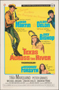 """Movie Posters:Western, Texas Across the River (Universal, 1966). Folded, Fine/Very Fine. One Sheet (27"""" X 41""""). Western.. ..."""