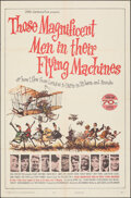 """Movie Posters:Adventure, Those Magnificent Men in Their Flying Machines (20th Century Fox, 1965). Folded, Very Fine. One Sheet (27"""" X 41"""") Ronald Sea..."""