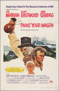 """Movie Posters:Musical, Paint Your Wagon (Paramount, 1969). Folded, Fine/Very Fine. One Sheet (27"""" X 41"""") Ron Lesser Artwork. Musical. . ..."""