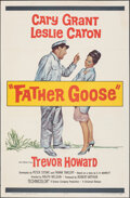 "Movie Posters:Comedy, Father Goose (Universal, 1965). Folded, Very Fine-. One Sheet (27"" X 41""). Comedy.. ..."