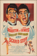 """Movie Posters:Comedy, Scared Stiff (Paramount, 1953). Folded, Fine/Very Fine. One Sheet (27"""" X 41""""). Comedy.. ..."""