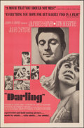 "Movie Posters:Drama, Darling (Embassy, 1965). Folded, Very Fine. One Sheet (27"" X 41""). Drama.. ..."